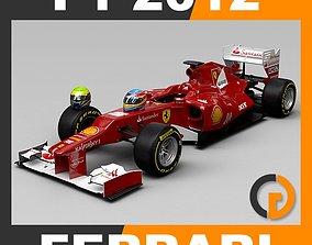 3D F1 2012 Scuderia Ferrari F2012