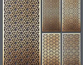 3D Decorative panel set 53
