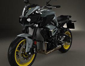 Yamaha MT-10 2016 3D model