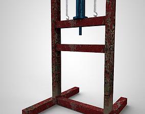 3D pulldown press