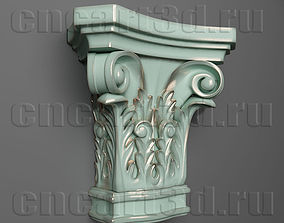 3D print model Capital Pillar Head