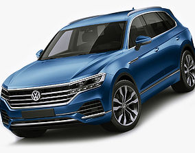 v-ray Volkswagen Touareg 2019 3D model