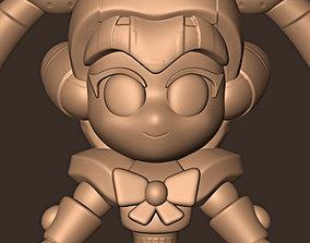 SAILOR MOON CHIBI FAN ART REDRAW 3D printable model
