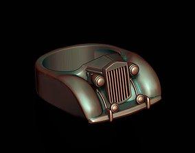 3D printable model car ring 28