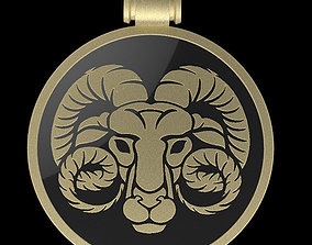 jewelry 3D print model Aries
