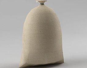 Bag 03 flour bag 3D asset