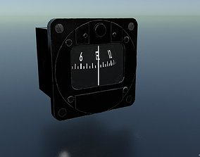MAGNETIC COMPASS 3D asset