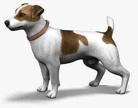 3D model Dog Jack Russell Terrier Fur