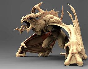 3D model Horned wyvern