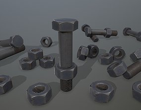 iron 3D model realtime Bolts