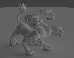Cerberus 3D print model boardgame