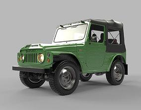 3D model Suzuki Jimny 1977