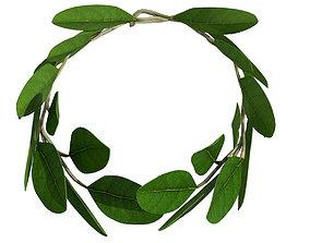 Laurel Wreath 3D model low-poly