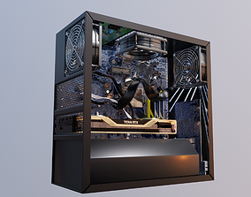 3D gaming pc with graphics card