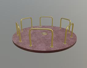 Merry Go Round 3D asset