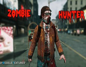 Zombie Hunter for UNREAL 3D asset