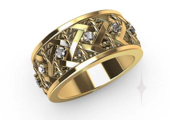 Ring cartier style