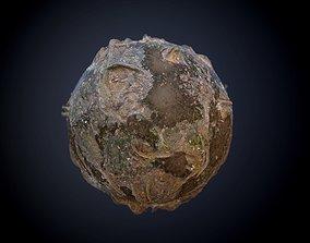 Forest Mud Ground Seamless PBR Texture 3D model