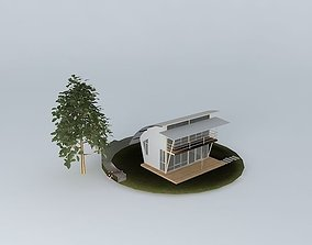 lodge Small vacation cottage 3D model