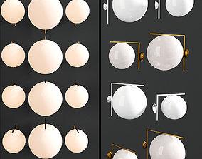 3D model Flos Ceiling Wall Lamp