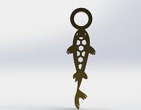 3D printable model Koi Pendant 2 Hive