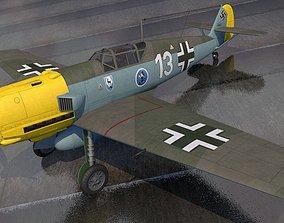 plane 3D Messerschmitt Bf-109 E-3 Emil