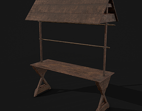 3D asset Single Stand Display