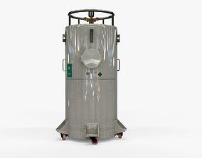 3D model Cryogenic Tank