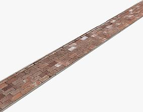 Brick Sidewalk - 16K Scan 3D model