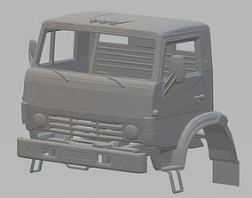 Kamaz 4310 Printable Cabin Truck