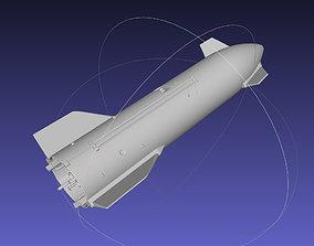 Space X Starship SN10 Printable Model