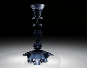 3D print model Small step Candlestick
