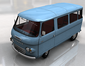 COMMER 2500 BUS 1968 3D