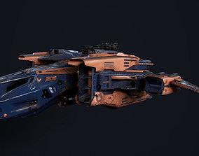 Spaceship A91 3D model