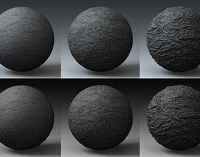 3D model Displacement Landscape Shader 062