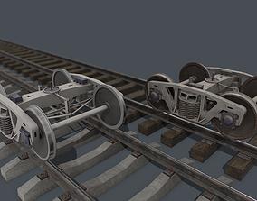 Bogie PBR 3D model