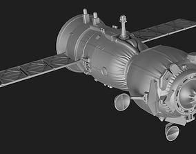 3D printable model Soyuz MS Spacecraft
