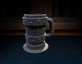 medieval cup stl 3d print