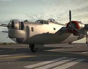 Consolidated B-24 Liberator 3D