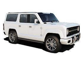3D model Ford Bronco Concept
