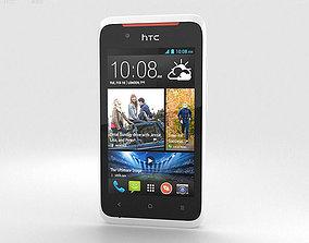 HTC Desire 210 White 3D