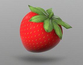 Strawberry 3D asset