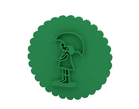 3D print model cutter Cookie stamp - Stamp
