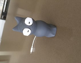 3D print model Cat earbud cable protector