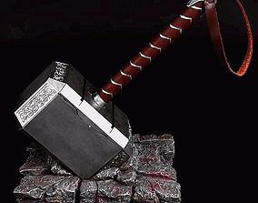 3D model welding thor hammer