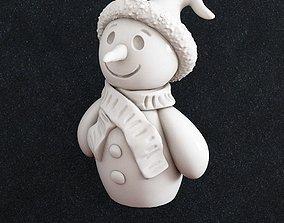 3D print model Snowman Christmas