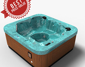 3D model Whirl Deluxe SPA