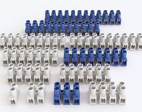 3D model Electrical Terminal Block