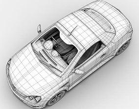 3D model Vauxhall Tigra