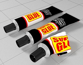3D Superglue tube